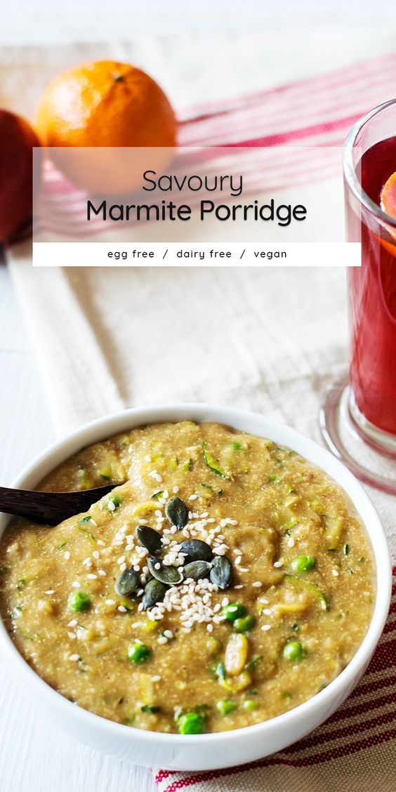 savoury Marmite Porridge