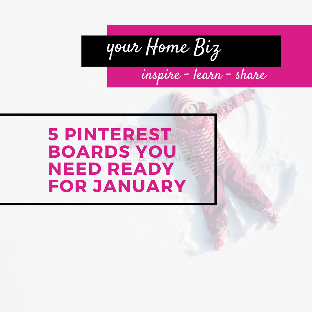 5 pinterest boards you need ready for january